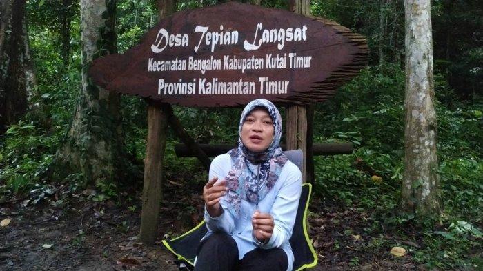 Kepala Dinas Pariwisata Kalimantan Timur, Sri Wahyuni saat berkesempatan melakukan ekspedisi bersama Tim Kemenparekraf pada 18-24 November 2020 lalu