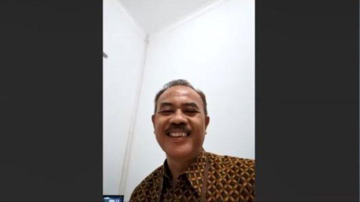 Kepala Dinas Pariwisata, Pemuda, dan Olahraga Kabupaten Karanganyar Titis Sri Jarwoto dalam sambungan teleconference bersama Tribunnews.com, Selasa 16 Juli 2020.