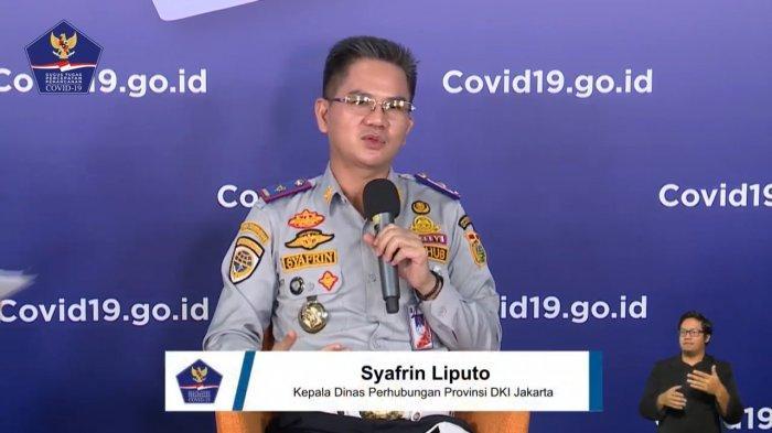 Kepala Dinas Perhubungan (Dishub) Provinsi DKI Jakarta, Syafrin Lipot