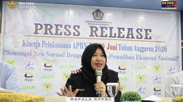 Kementerian Keuangan Provinsi Bengkulu Paparkan Capaian APBN 2020