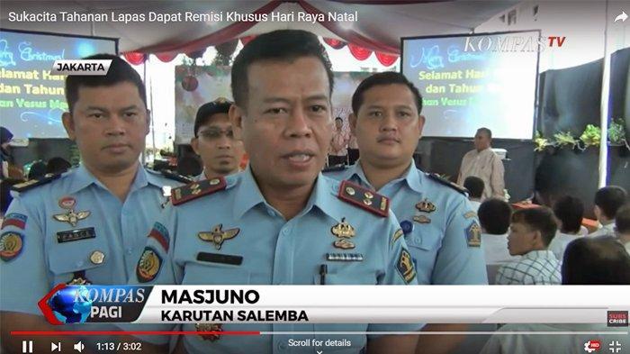 Kepala Lapas Kelas 1 A Kedungpane Semarang, Dadi Mulyadi