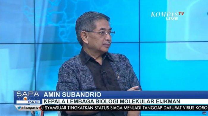 Lembaga Eijkman Sebut Mutasi Corona Baru B117 di Indonesia Kasus Impor