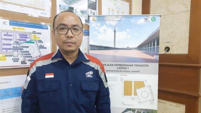 Kepala Project Proyek Renovasi Masjid Istiqlal, M.Isa