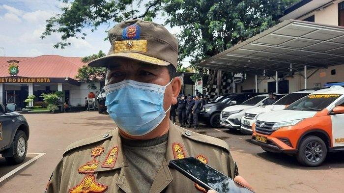 Satpol PP Kota Bekasi mengaku telah menegur  hotel yang jadi lokasi pesta ulang tahun artis Tiktok.