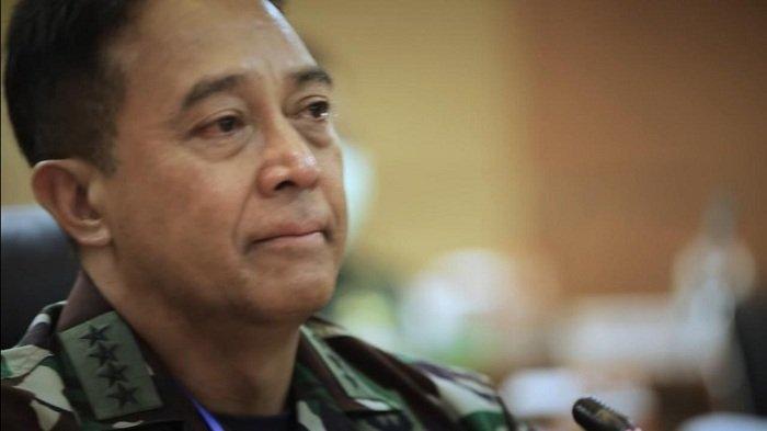 Jenderal Andika Perkasa Akan Berikan Lima Set Helm Pendeteksi Suhu Tubuh untuk Tangani Covid-19