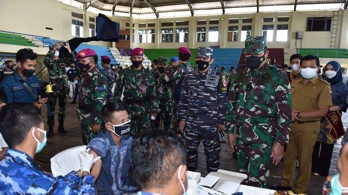 TNI AL Targetkan Vaksinasi 2 Ribu Orang di Kabupaten Sumedang