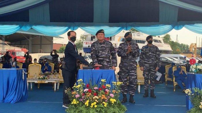 KSAL Luncurkan Dua Kapal Perang Baru untuk Jaga Keamanan Laut Indonesia