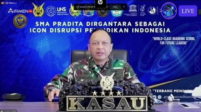 KSAU Marsekal TNI Fadjar Prasetyo Ditunjuk Jadi Komut Dirgantara Indonesia
