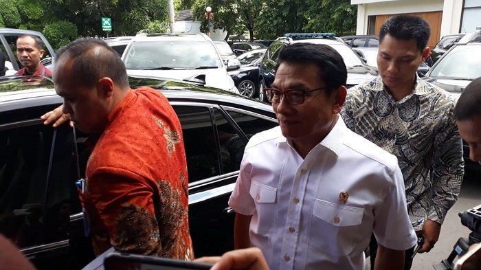 Kepala Staf Kepresidenan Moeldoko di kantor Kemenko Polhukam, Jalan Medan Merdeka Barat, Jakarta Pusat, Kamis (23/1/2020).