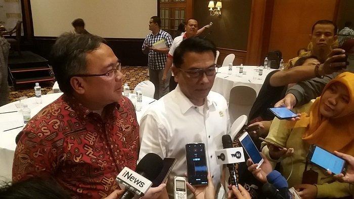 Kepala Staf Kepresidenan Moeldoko saat ditemui di Hotel Arya Duta, Gambir, Jakarta Pusat, Kamis (22/8/2019).