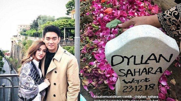 Ifan Seventeen menangis saat sungkem dengan orangtua almarhum Dylan Sahara.