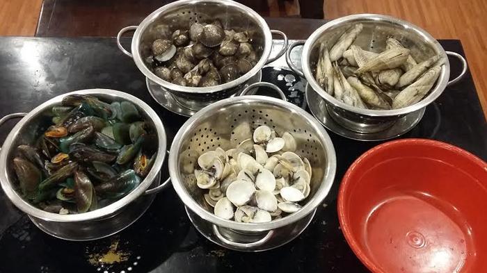 Mau Tahu Beda Sedapnya Macam-macam Kerang Laut dan Sungai? Datangi Kedai  Kerang Pak Rudi - Halaman 6 - Tribunnews.com