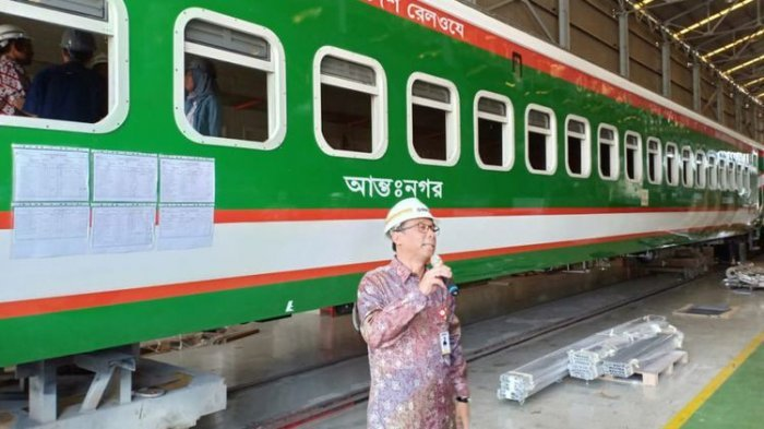 Genjot Pasar Ekspor, PT Inka Ikut Lelang Proyek Pembuatan Kereta Barang untuk Banglandesh