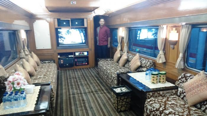 Yogyakarta Jadi Kota Tujuan Favorit Penyewa Kereta Wisata