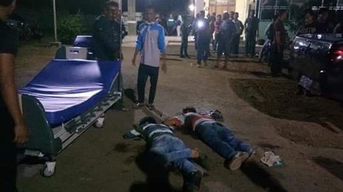 70 Orang Kepung Rumah Sakit Cari Kanity Reskrim Polsek Uli Musi, Baku Tembak Tak Terelakkan
