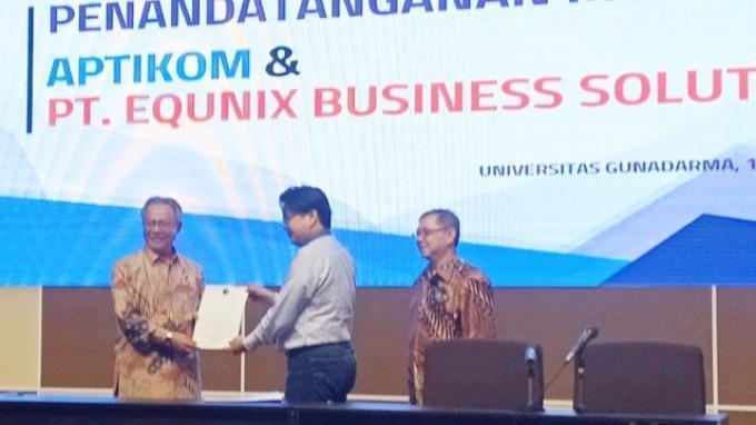 Equnix Business Solutions dan Aptikom Jalin Kerjasama Guna Hasilkan Technopreneur Andal