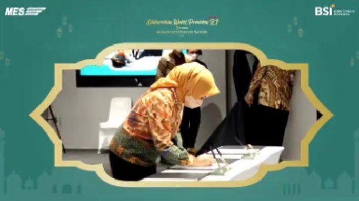 Pertamina Kerja Sama dengan MES & BSI Percepat Pembangunan Pertashop untuk Kemandirian Pesantren