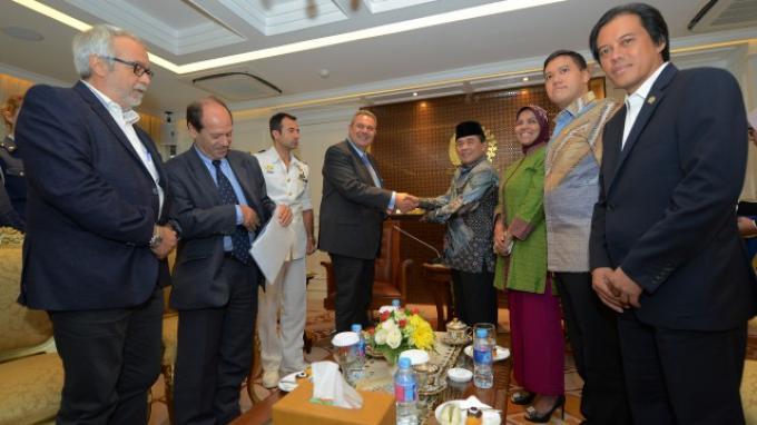 DPR Mendorong Kerjasama Indonesia - Yunani Ditingkatkan