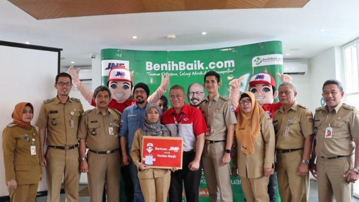 BenihBaik.com Kerjasama dengan JNE Dorong Filantropi Warga