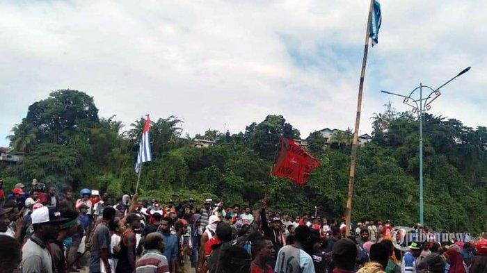 Bendera Bintang Kejora Sempat Berkibar Saat Kerusuhan di Fakfak