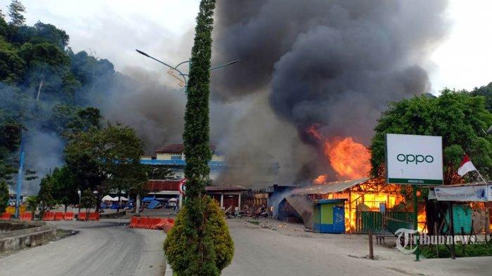 Rusuh Pecah di Fakfak dan Mimika, Rabu: Polisi dan TNI Kedepankan Tindakan Persuasif