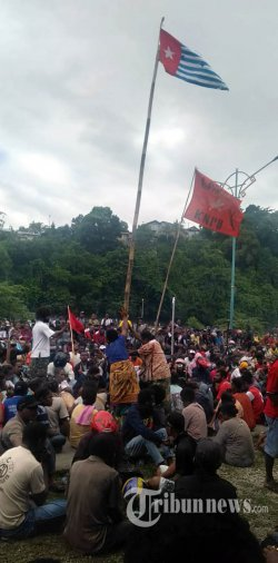 Kronologi Rusuh di Fakfak: Diduga Dipicu Pengibaran Bendera Bintang Kejora oleh Massa Demonstran