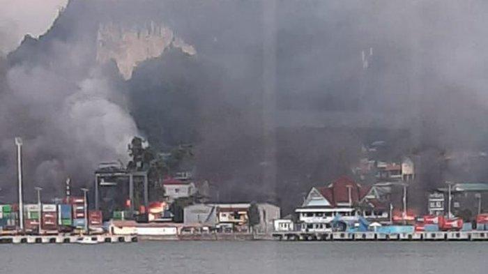 TERKINI Info Rusuh Papua: Hingga Dini Hari Masih Mencekam, Jokowi Ingin Pace, Mace, Anak Papua Maju