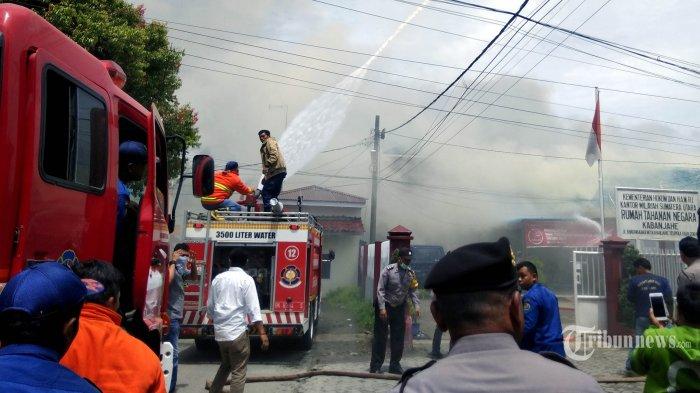 Cerita Lengkap Kerusuhan di Rutan Kabanjahe: Para Napi Gusar, 5 Rekannya Tiga Hari Dirantai
