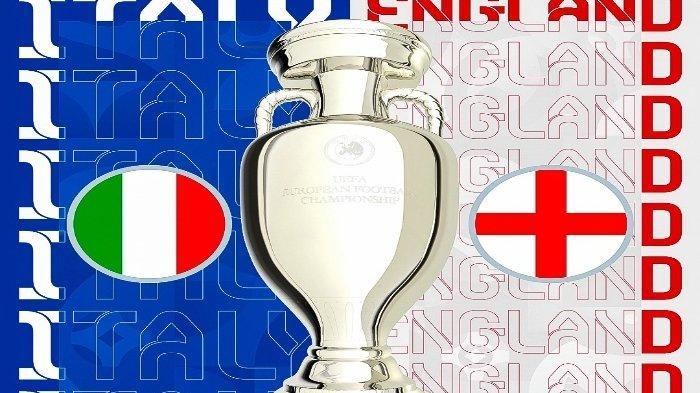 Jadwal Final EURO 2020 Inggris Vs Italia Nanti Malam, Kemenangan Gli Azzurri Ditentukan Tiga Faktor