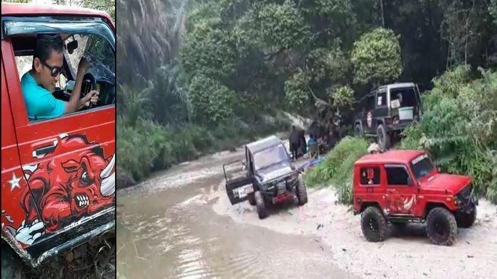 Keseruan Off Road Kapten Sriwijaya FC, Ambrizal: Uji Nyali Adrenalin dan Olahraga