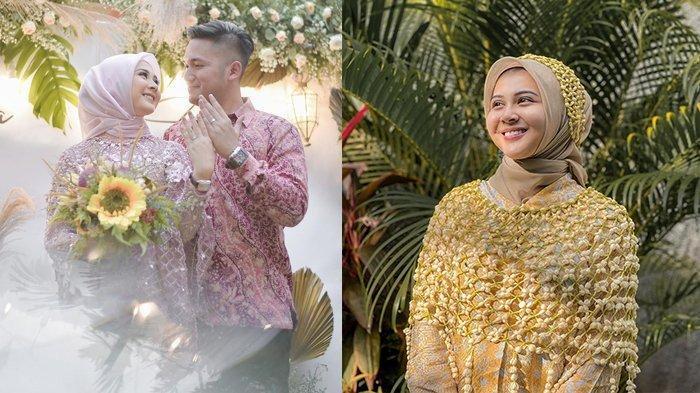 SAH Kesha Ratuliu Menikah dengan Adhi Permana, Siapa Sosok sang Suami?
