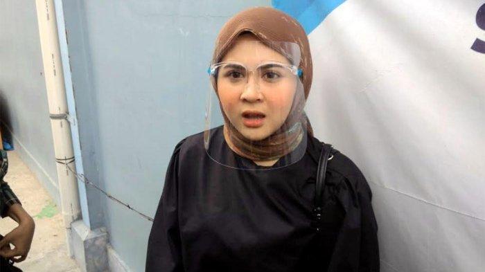 Kesha Ratuliu ketika ditemui di gedung Trans TV, Jalan Kapten Tendean, Mampang Prapatan, Jakarta Selatan, Rabu (5/8/2020).