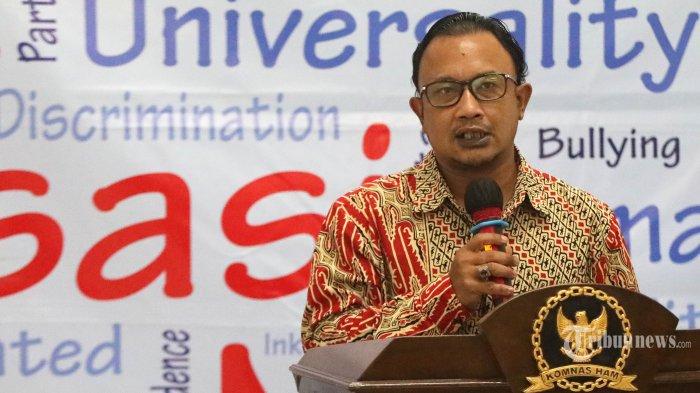 Komnas HAM Berharap Bisa Menjelaskan Secara Langsung kepada Jokowi Terkait Hasil Temuan TWK KPK