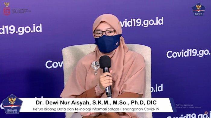 Distribusi Kematian Covid-19 Laki-Laki dan Perempuan Secara Nasional Sama