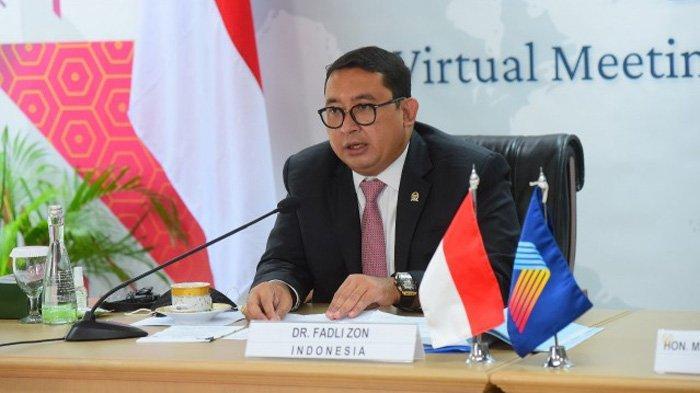 Fadli Zon: Negara-Negara Kawasan Regional Harus Saling Bantu Tangani Covid-19