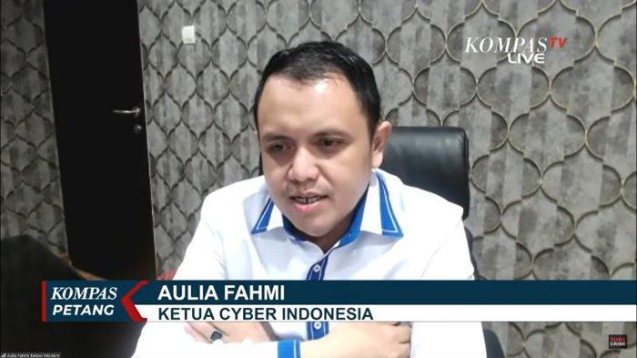 Ketua Cyber Indonesia, <a href='https://jambi.tribunnews.com/tag/aulia-fahmi' title='AuliaFahmi'>AuliaFahmi</a>  dds