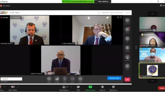 Hadiri Sidang Council IMO ke-125, Indonesia Sepakati Sidang Majelis IMO ke-32 Digelar Secara Daring
