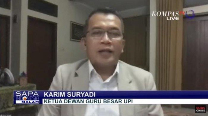 Ketua Dewan Guru Besar UPI, Karim Suryadi menyebutkan, wacana pelonggaran Pembatasan Sosial Berskala Besar (PSBB) sama halnya dengan melakukan pelanggaran.