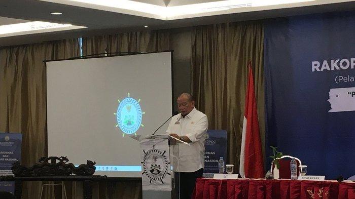 Ketua DPD RI Sampaikan Sembilan Substansi RUU Daerah Kepulauan di Rakornas Aspeksindo