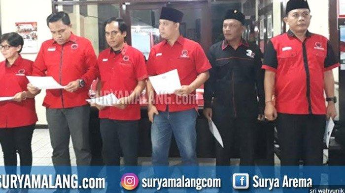 4 Anggota Dewan Terlibat Dugaan Suap, PDIP Kota Malang Percepat PAW, ini Calon Penggantinya