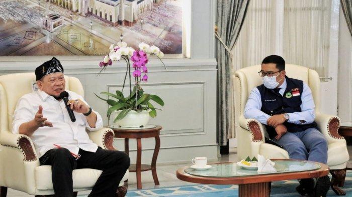 Bertemu Ketua DPD RI, Ridwan Kamil Berharap Keadilan Politik untuk Masyarakat Jabar