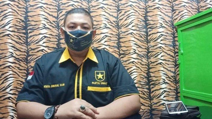 Pimpin Partai Ummat Asahan, Hendra Gunawan: Target Satu Fraksi