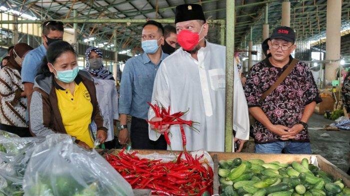 Ketua DPD RI Ingin Pasar Dukung Pemulihan Ekonomi Masyarakat