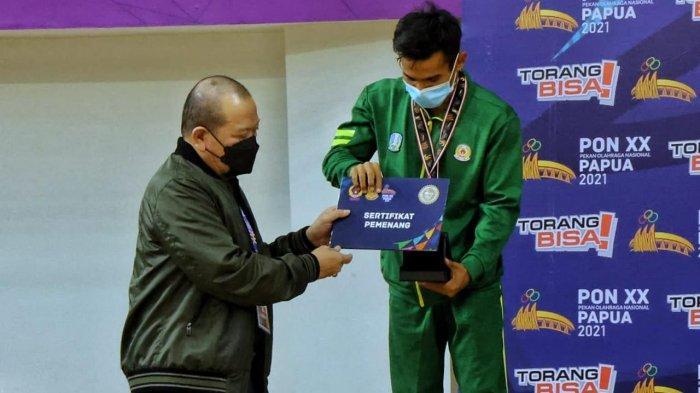 Senam Jatim Sabet 2 Emas, LaNyalla Serahkan Medali dan Bonus untuk Atlet di PON XX Papua