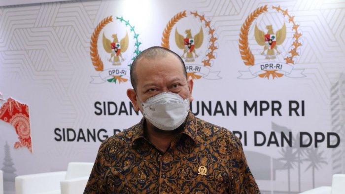Jadi Duta Prokes, Ketua DPD RI Apresiasi Kesadaran PKL Surabaya