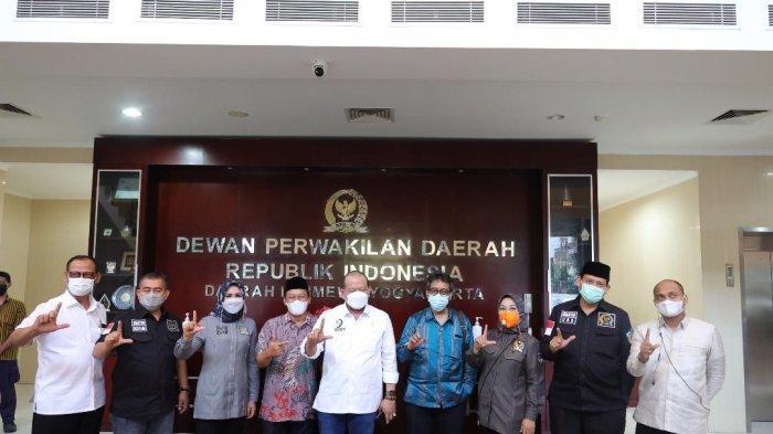 Ketua DPD RI Lakukan Kunjungan ke Kantor Perwakilan DPD RI Provinsi DI Yogyakarta