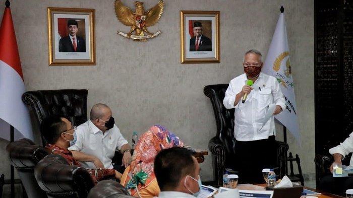 Ketua DPD RI Fasilitasi Pertemuan Menteri PUPR dan Gubernur NTB Percepat Pembangunan Mandalika
