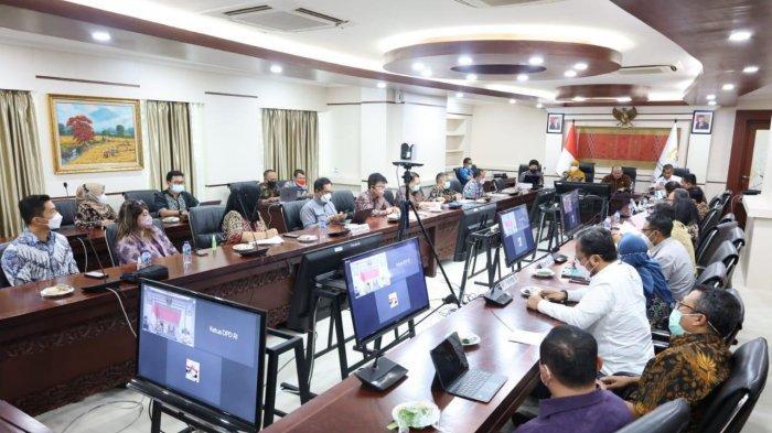 Rakor Terkait Pelindo III, Ketua DPD RI Ingatkan Pesan dan Target Capaian Presiden