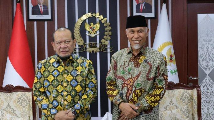 Audiensi dengan Gubernur Sumbar, Ketua DPD RI Sarankan Food Estate Dimulai dari Lahan Kecil