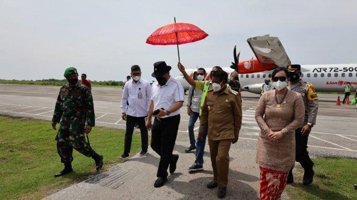 Penerbangan Perdana Kupang-Alor Diluncurkan, Ketua DPD RI Berharap Konektivitas NTT Makin Lancar